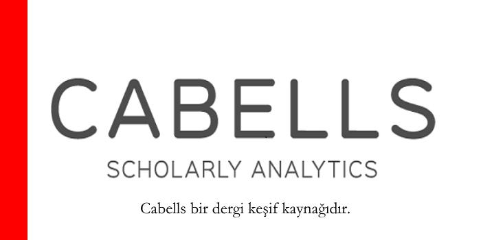 Cabells Dergi Keşif Kaynağı (doçentlik başvurusu predatör/yağmacı dergiler)